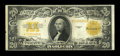 Error Notes:Large Size Inverts, Fr. 1187 $20 1922 Gold Certificate Very Fine....