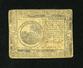 Colonial Notes:Continental Congress Issues, Continental Currency February 17, 1776 $6 Very Fine....