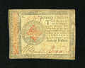 Colonial Notes:Continental Congress Issues, Continental Currency January 14, 1779 $70 Very Fine-ExtremelyFine....