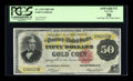 Large Size:Gold Certificates, Fr. 1194 $50 1882 Gold Certificate PCGS Apparent Very Fine 30....