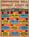 Music Memorabilia:Posters, Caravan of Stars with Peter and Gordon Concert Poster (1965)....