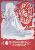 Music Memorabilia:Posters, Moby Grape/Sparrow Avalon Ballroom Concert Poster FD-43 (Family Dog, 1967)...