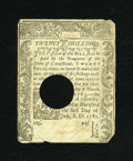 Colonial Notes:Connecticut, Connecticut July 1, 1780 20s Very Fine, HOC....