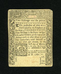 Colonial Notes:Connecticut, Connecticut July 1, 1780 2s/6d Extremely Fine, CC....