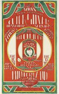 Music Memorabilia:Posters, Quicksilver Messenger Service/Big Brother and the Holding CompanyThe Xmas Show Winterland Concert Poster (Seide, ...