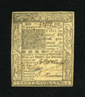 Colonial Notes:Delaware, Delaware January 1, 1776 20s Choice About New....