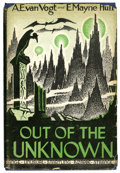 Books:First Editions, A. E. van Vogt and E. Mayne Hull - Out of the Unknown (FRCI,1948)....