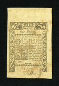 Colonial Notes:Rhode Island, Rhode Island May 1786 1s Very Fine....