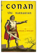 Books:Fine Press and Limited Editions, Robert E. Howard - Conan the Barbarian Limited Edition Book(Gnome, 1954)....
