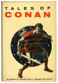 Books:Fine Press and Limited Editions, Robert E. Howard and L. Sprague de Camp - Tales of ConanLimited Edition Book (Gnome, 1955)....