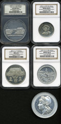 Expositions and Fairs, Quintet of 1892-3 World's Columbian Expo Medals.... (Total: 5 medals)