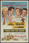 "Movie Posters:Musical, Three for the Show (Columbia, 1954). One Sheet (27"" X 41""). Musical...."