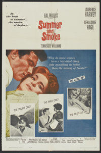 "Summer and Smoke (Paramount, 1961). One Sheet (27"" X 41""). Drama"