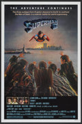 "Movie Posters:Action, Superman II (Warner Brothers, 1981). Autographed One Sheet (27"" X41""). Action...."
