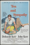 "Movie Posters:Drama, Tea and Sympathy (MGM, 1956). One Sheet (27"" X 41""). Drama...."