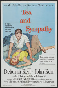 "Tea and Sympathy (MGM, 1956). One Sheet (27"" X 41""). Drama"