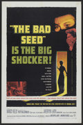"Movie Posters:Thriller, The Bad Seed (Warner Brothers, 1956). One Sheet (27"" X 41"").Thriller...."