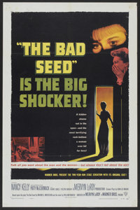 """The Bad Seed (Warner Brothers, 1956). One Sheet (27"""" X 41""""). Thriller"""