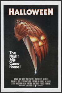 "Halloween (Compass International, 1978). One Sheet (27"" X 41""). Horror"