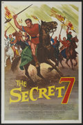 "Movie Posters:Adventure, The Secret 7 (MGM, 1966). One Sheet (27"" X 41""). Adventure...."