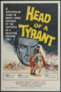 """Movie Posters:Adventure, Head of a Tyrant (Universal International, 1960). One Sheet (27"""" X41"""") and Lobby Card Set of 8 (11"""" X 14""""). Adventure.... (Total: 9Items)"""