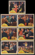 "Movie Posters:Drama, International Lady (United Artists, 1941). Lobby Cards (7) (11"" X 14""). Drama.... (Total: 7 Items)"