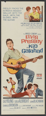 "Kid Galahad (United Artists, 1962). Insert (14"" X 36""). Elvis Presley"
