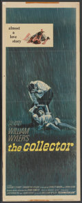 """Movie Posters:Thriller, The Collector (Columbia, 1965). Insert (14"""" X 36""""). Thriller...."""