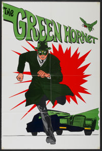 "The Green Hornet (20th Century Fox, 1966). One Sheet (27"" X 40""). Action"