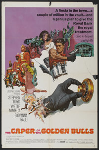 """The Caper of the Golden Bulls (Embassy, 1967). One Sheet (27"""" X 41""""). Action"""