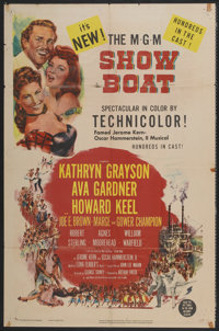 "Show Boat (MGM, 1951). One Sheet (27"" X 41""). Musical"