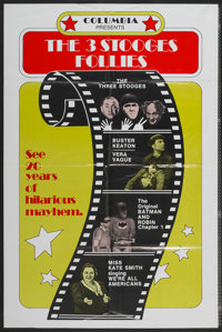 "The Three Stooges Follies (Columbia, 1974). One Sheet (27"" X 41""). Comedy"