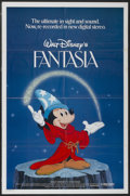 "Movie Posters:Animated, Fantasia (Buena Vista, R-1982). One Sheet (27"" X 41""). Animated...."