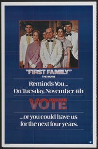 """First Family (Warner Brothers, 1980). One Sheet (27"""" X 41"""") Advance. Comedy"""