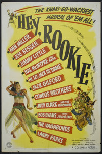"Hey, Rookie (Columbia, 1944). One Sheet (27"" X 41""). Musical"