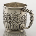 Silver Holloware, American:Cups, AN AMERICAN SILVER CUP. Frank M. Whiting, North Attleboro,Massachusetts, circa 1890. Marks: (W with griffin), STERLING,1...