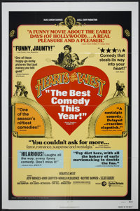 """Hearts of the West (United Artists, 1975). One Sheet (27"""" X 41"""") Style B. Western"""