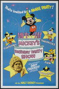 "Movie Posters:Adventure, Mickey's Birthday Party Show (Buena Vista, 1978). One Sheet (27"" X41""). Adventure...."