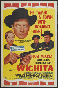 "Wichita (Allied Artists, R-1961). One Sheet (27"" X 41""). Western"