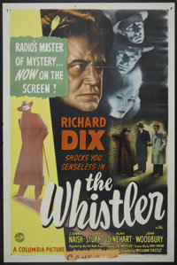 "The Whistler (Columbia, 1944). One Sheet (27"" X 41""). Mystery"