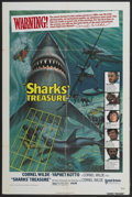 "Movie Posters:Adventure, Sharks' Treasure (United Artists, 1975). One Sheet (27"" X 41"").Adventure...."