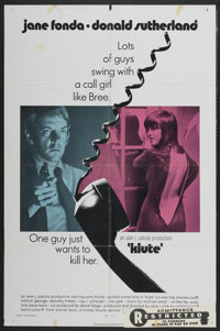 """Klute (Warner Brothers, 1971). One Sheet (27"""" X 41""""). Thriller"""