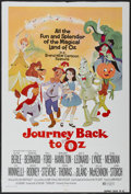 "Movie Posters:Animated, Journey Back to Oz (Filmation, 1974). One Sheet (27"" X 40"").Animated...."