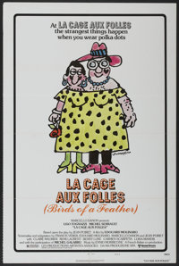 """La Cage Aux Folles (United Artists, 1979). One Sheet (27"""" X 41"""") Style B. Comedy"""