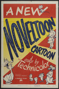 "Movie Posters:Animated, Noveltoon Cartoons Stock Poster (Paramount, 1950). One Sheet (27"" X41""). Animated...."
