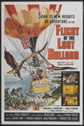 "Movie Posters:Adventure, Flight of the Lost Balloon (Woolner Brothers, 1961). One Sheet (27""X 41""). Adventure...."