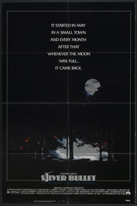 "Silver Bullet (Paramount, 1985). One Sheet (27"" X 41""). Horror"