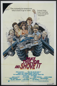 """Take This Job and Shove It (Avco Embassy, 1981). One Sheets (2) (27"""" X 41""""). Comedy.... (Total: 2 Items)"""