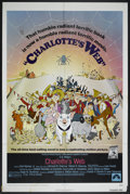 "Movie Posters:Animated, Charlotte's Web (Paramount, 1973). One Sheet (27"" X 41""). Animated...."