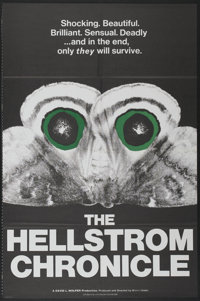 "The Hellstrom Chronicle (20th Century Fox, 1971). One Sheet (27"" X 41""). Documentary"